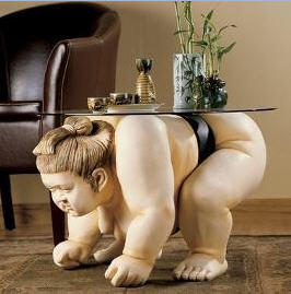 Basho sumo wrestler table