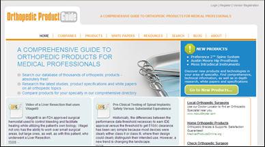 Orthopedic site