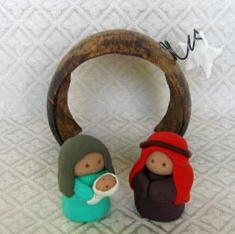 Honduras nativity set