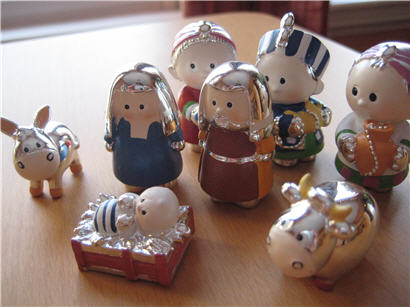 Awesome nativity set