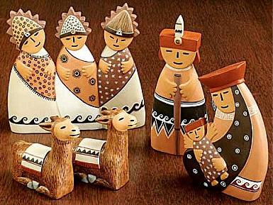 Peru nativity