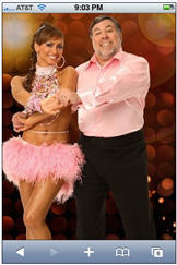 Woz dancing with the stars